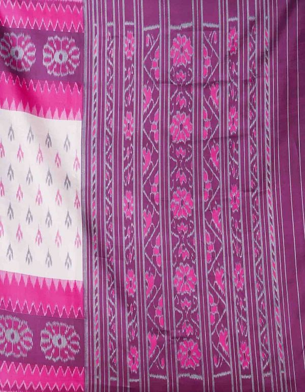 Online Shopping for White-Pink  Fancy Printed Art Silk Saree with Fancy/Ethnic Prints from Punjab at Unnatisilks.comIndia