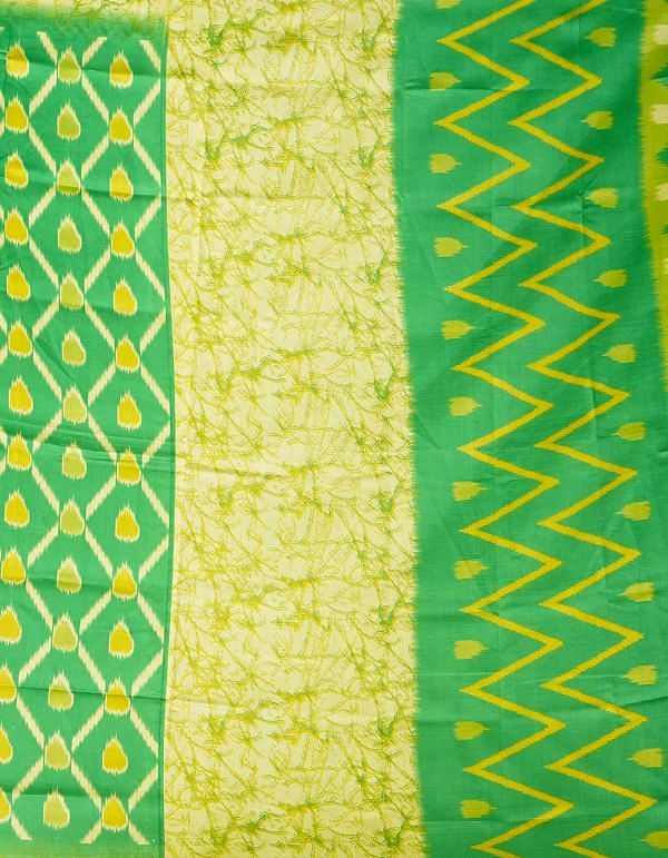 Online Shopping for Green  Fancy Printed Art Silk Saree with Fancy/Ethnic Prints from Punjab at Unnatisilks.comIndia