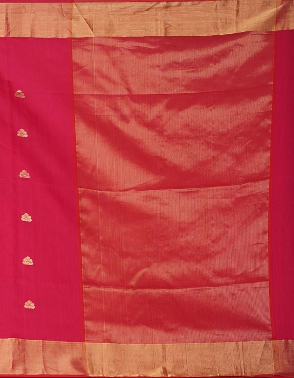Online Shopping for Pink Pure Handloom Maheshwari Sico Saree with Weaving from Madhya Pradesh at Unnatisilks.comIndia