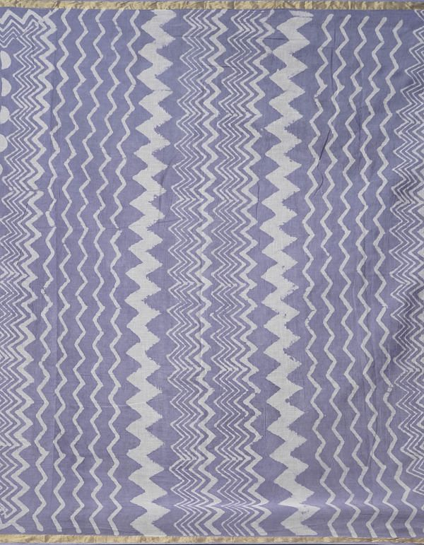 Online Shopping for Violet Pure Dabu Printed Mulmul Cotton Saree with Dabu Prints from Rajasthan at Unnatisilks.comIndia