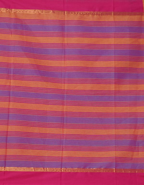 Online Shopping for Yellow-Blue Pure Mangalagiri Cotton Saree with Checks with Weaving from Andhra Pradesh at Unnatisilks.comIndia