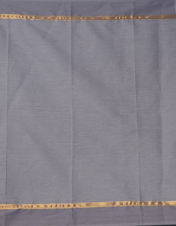 Online Shopping for Grey-White Pure Mangalagiri Cotton Saree with Checks with Weaving from Andhra Pradesh at Unnatisilks.comIndia
