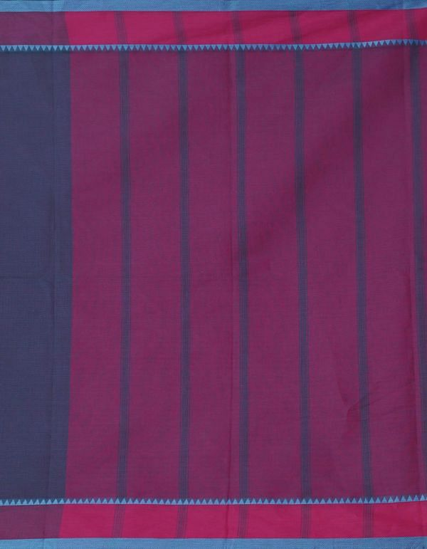 Online Shopping for Blue Pure Mangalagiri Cotton Saree with Weaving from Andhra Pradesh at Unnatisilks.comIndia
