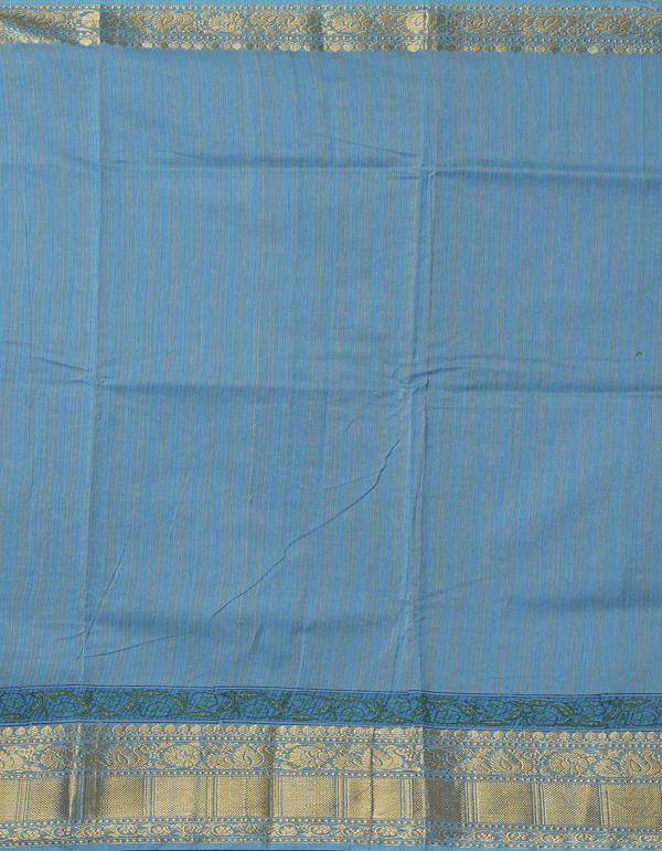 Online Shopping for Blue Pure Chanderi Sico Saree with Hand Block Prints from Madhya Pradesh at Unnatisilks.comIndia