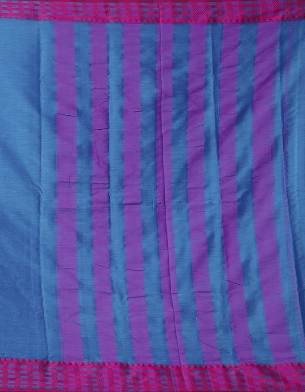 Online Shopping for Blue Pure Handloom Narayanpet Silk Cotton Saree with Weaving from Andhra Pradesh at Unnatisilks.comIndia
