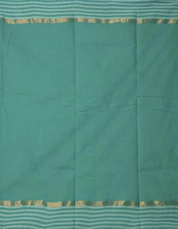Online Shopping for Green Pure Mangalagiri Cotton Saree with Embroidery from Andhra Pradesh at Unnatisilks.comIndia