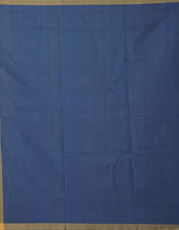 Online Shopping for Yellow-Blue Pure Handloom Mangalagiri Cotton Saree with Weaving from Andhra Pradesh at Unnatisilks.comIndia
