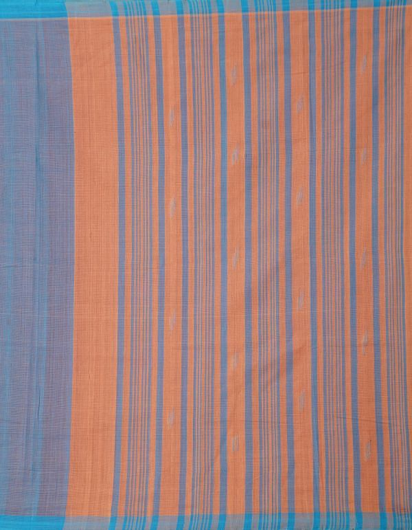 Online Shopping for Blue Pure Handloom Mangalagiri Cotton Saree with Weaving from Andhra Pradesh at Unnatisilks.comIndia