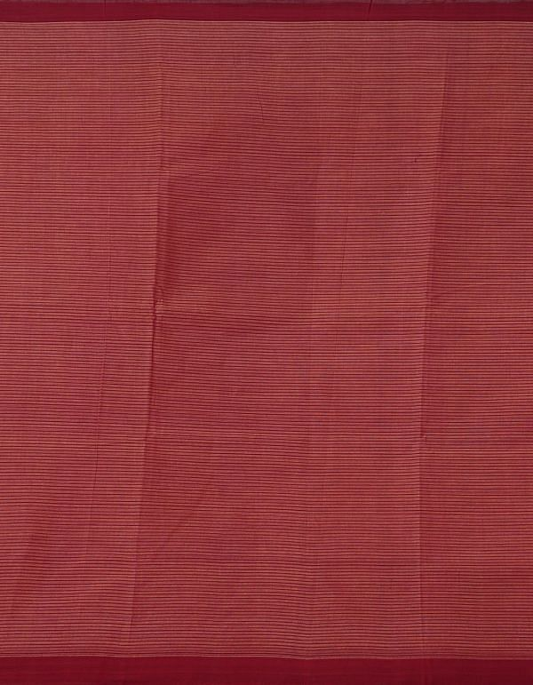 Online Shopping for Orange Pure Handloom Mangalagiri Cotton Saree with Checks with Weaving from Andhra Pradesh at Unnatisilks.comIndia