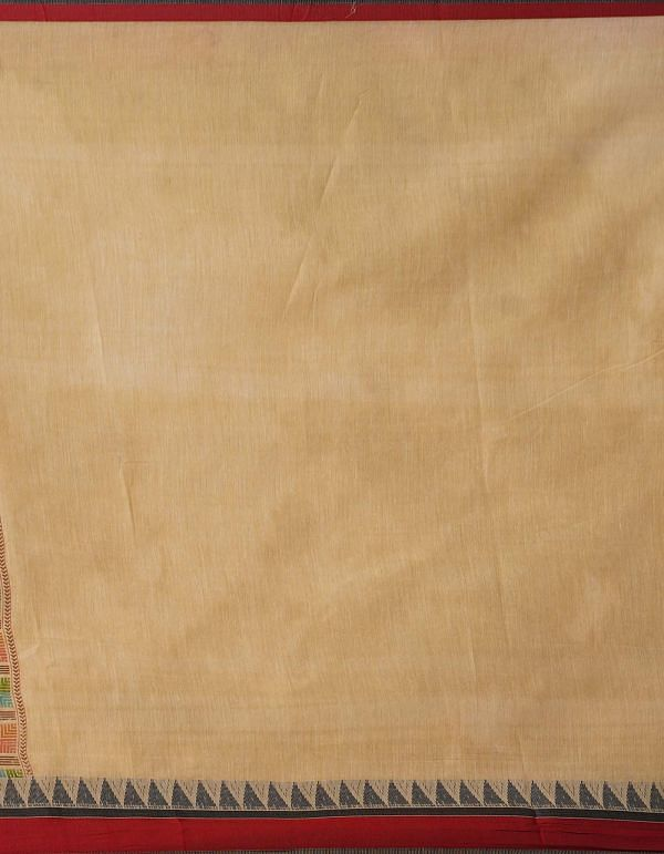Online Shopping for Brown  Block Printed Bengal Sico Saree with Hand Block Prints from West Bengal at Unnatisilks.comIndia