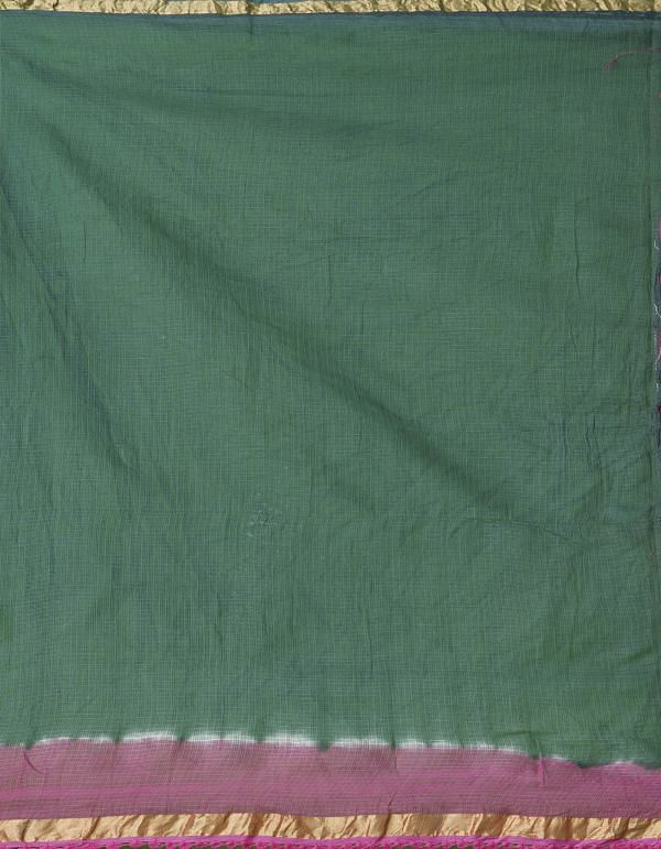 Online Shopping for Pink-Green  Croation Embroidery Kota Cotton Saree with Embroidery from Rajasthan at Unnatisilks.comIndia