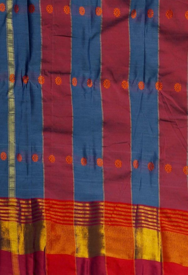 Online Shopping for Grey Pure Narayanpet Silk Cotton Saree with Weaving from Andhra Pradesh at Unnatisilks.comIndia