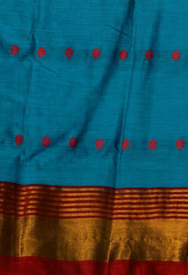 Online Shopping for Blue Pure Narayanpet Silk Cotton Saree with Weaving from Andhra Pradesh at Unnatisilks.comIndia
