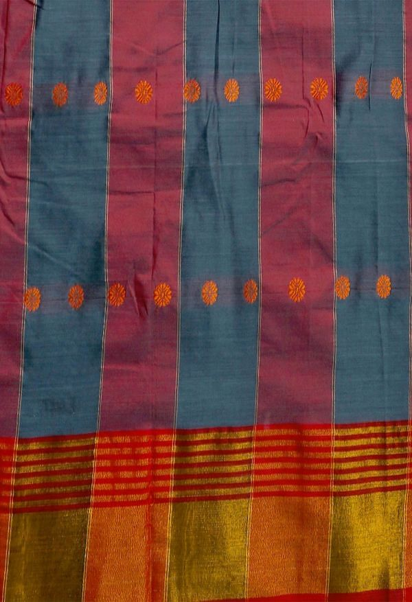 Online Shopping for Violet Pure Narayanpet Silk Cotton Saree with Weaving from Andhra Pradesh at Unnatisilks.comIndia