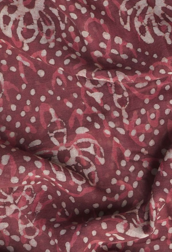 Online Shopping for Pink  Preet Dabu Mulmul Cotton Saree with Dabu from Rajasthan at Unnatisilks.comIndia