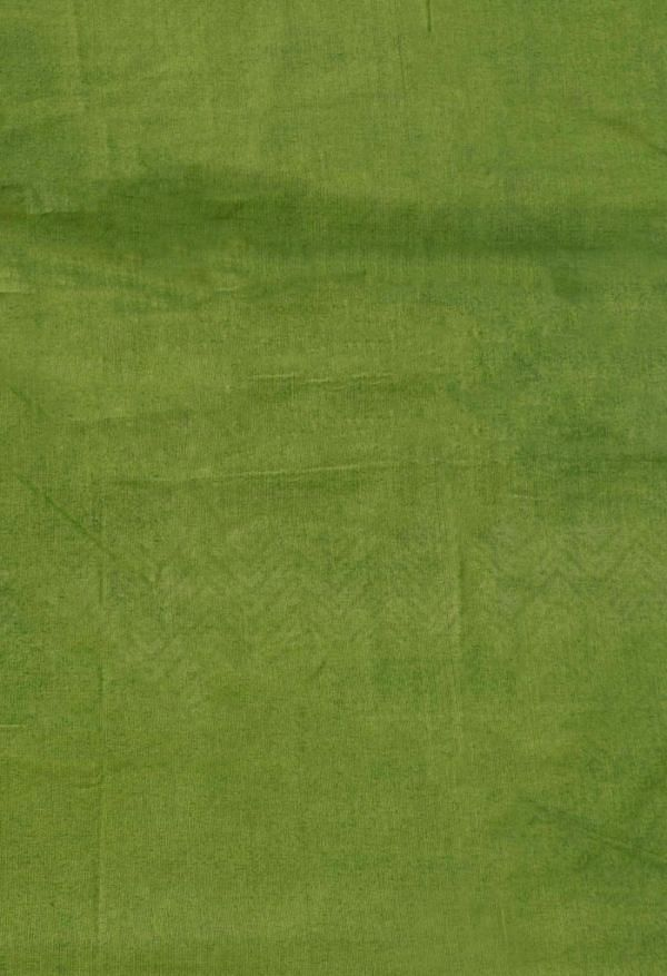 Online Shopping for Green Pure Hand Block Printed Mulmul Cotton Saree with Weaving from Punjab at Unnatisilks.comIndia