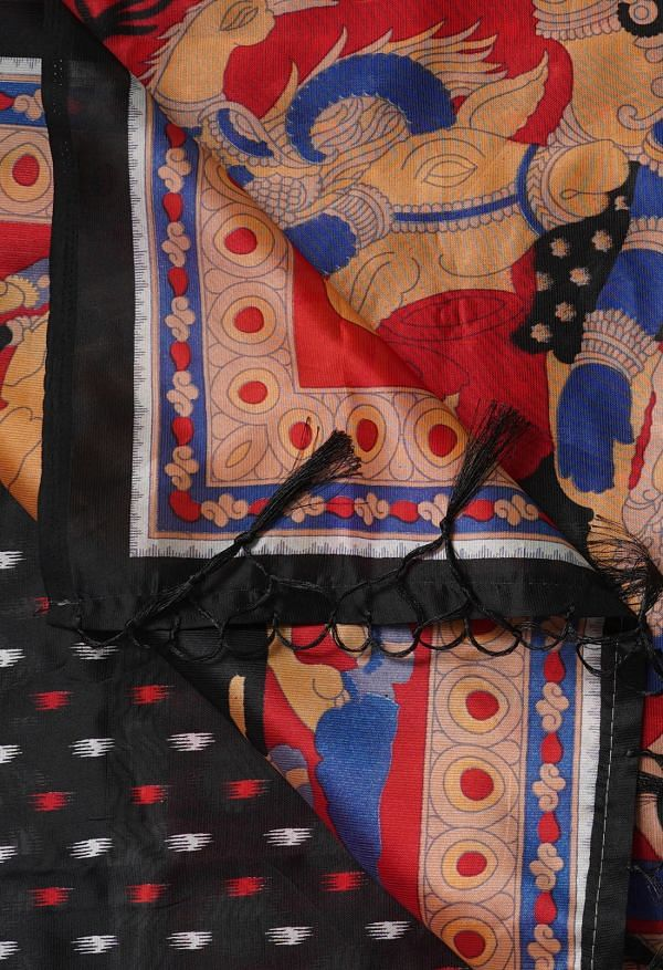Online Shopping for Red  Fancy Printed Art Silk Saree with Weaving from Andhra Pradesh at Unnatisilks.comIndia