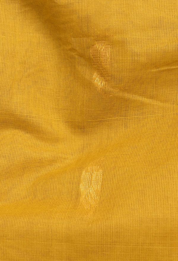 Online Shopping for Yellow Pure Handloom Gadwal Cotton Saree with Weaving from Andhra Pradesh at Unnatisilks.comIndia