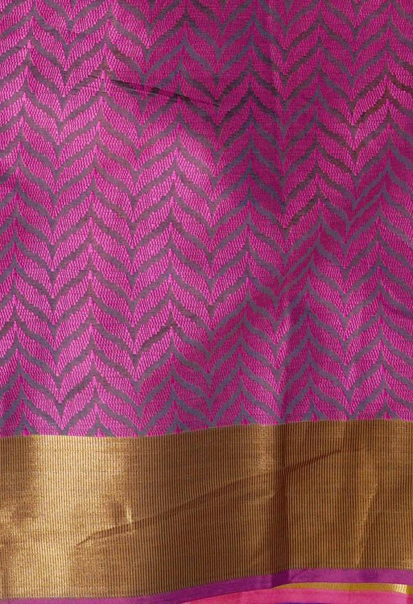 Online Shopping for Pink  Fancy Art Silk Saree with Weaving from Punjab at Unnatisilks.comIndia