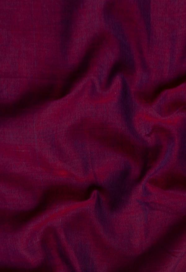 Online Shopping for Purple Pure Handloom Narayanpet Cotton Saree with Weaving from Kanchi at Unnatisilks.comIndia