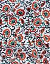 Online Shopping for Off White Pure Rajasthani Cotton Fabric with Prints from Rajasthan at Unnatisilks.comIndia