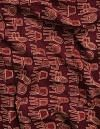 Online Shopping for Maroon Pure Printed Cotton Fabric with Prints from Andhra Pradesh at Unnatisilks.comIndia