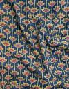 Online Shopping for Blue Jaipuri Hand Block Printed Cotton Fabric with Jaipuri Hand Block Prints from Rajasthan at Unnatisilks.comIndia