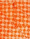 Online Shopping for Orange Pure Cotton Printed Fabric(1MTR) with fancy prints from Andhra Pradesh at Unnatisilks.com, India
