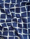 Online Shopping for Indigo Blue Pure Rajasthani Cotton Fabric with Dabu Prints from Rajasthan at Unnatisilks.com India