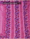 Online Shopping for Pink Banarasi Organza Checks Saree with Block Prints from Uttar Pradesh at Unnatisilks.com India