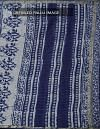 Online Shopping for Indigo Blue Pure Kota Cotton Saree With Dabu Prints with Dabu prints from Rajasthan at Unnatisilks.comIndia