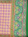 Online Shopping for Pink-Yellow  Patola Printed Crepe Soft Silk Saree with Fancy/Ethnic Prints from Punjab at Unnatisilks.comIndia