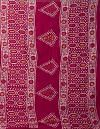 Online Shopping for Red Pure Batik Cotton Saree with Batik Prints from Rajasthan at Unnatisilks.comIndia