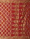 Online Shopping for Red Pure Tie and Dye Bandhani Georgette  Saree with Bandhani from Punjab at Unnatisilks.comIndia