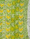Online Shopping for Green-Yellow Pure Ikat Pochampally Cotton Saree with Weaving from Madhya Pradesh at Unnatisilks.comIndia