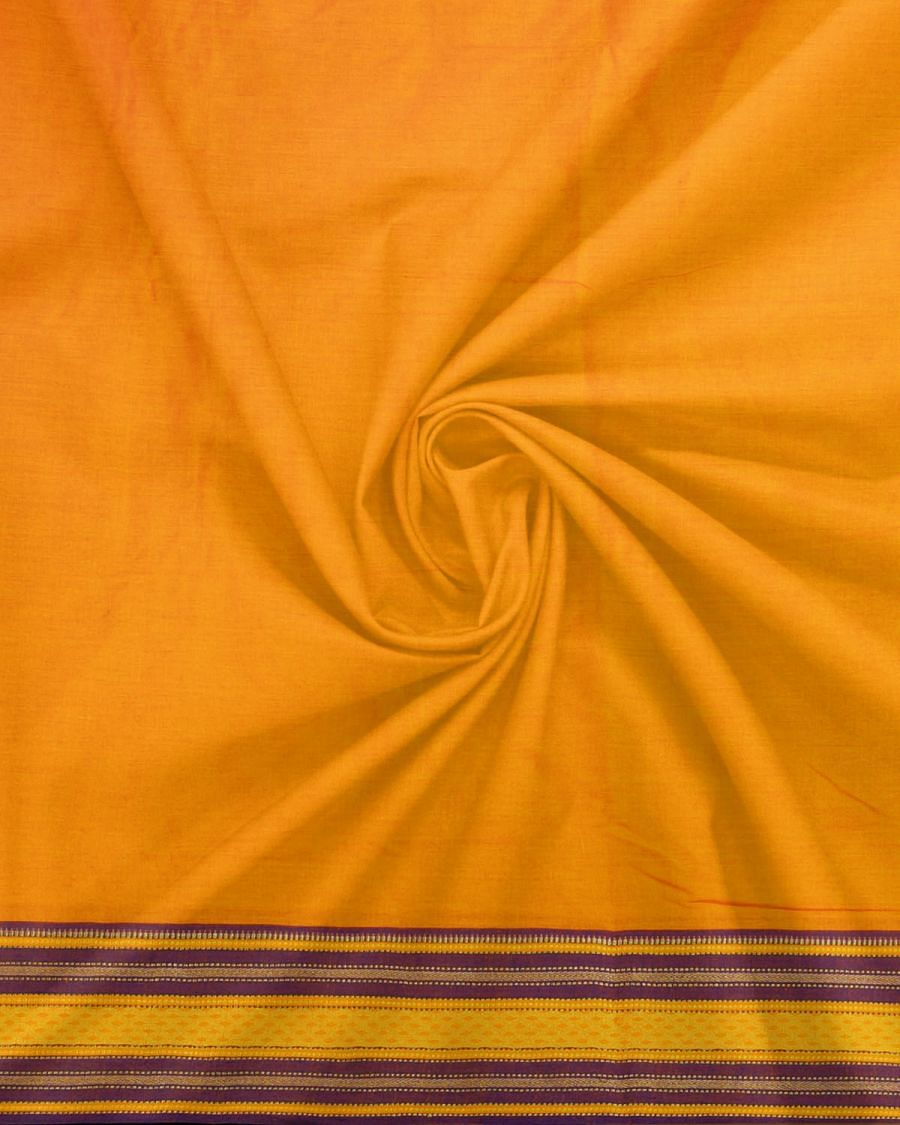 Online Shopping For Yellow Pure Handloom Kanchi Cotton Blouse Fabric