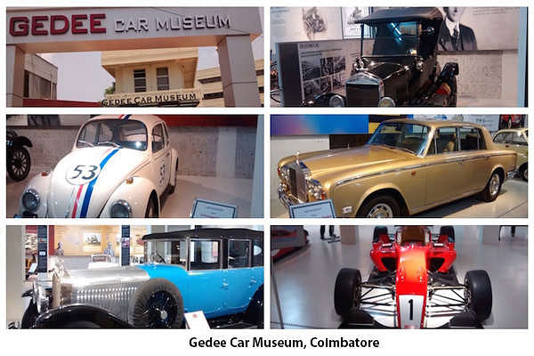 The Gedee Car Museum, the only classic car museum of its kind located in Coimbatore, has a collection of unique cars not to be seen anywhere else in India.