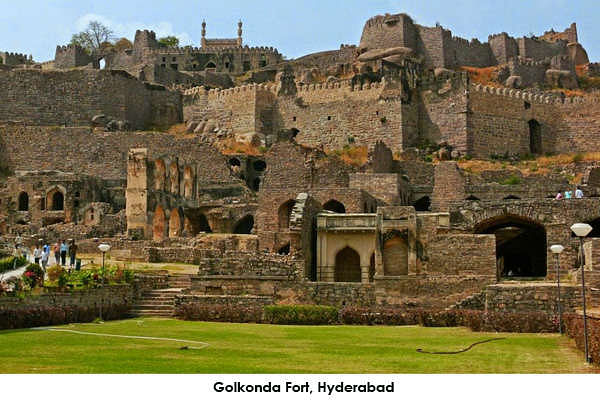 Golkonda Fort is the most popular monument of Hyderabad. Hike up to top is a real good experience.