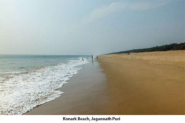 Konark Beach, is considered to be one of India's finest beaches. The Ramchandi Temple is situated about 10 km along this beach, as does the sun temple that also stands on this beach.