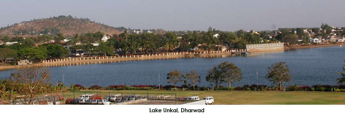 Lake Unkal is between Hubli and Dharwad and considered the pride of the twin cities. Spread over 200 acres this serene lake, with a statue of Swami Vivekananda in the centre, is what the new Taj hotel overlooks. Just walk down and enjoy boat rides and other recreational facilities.