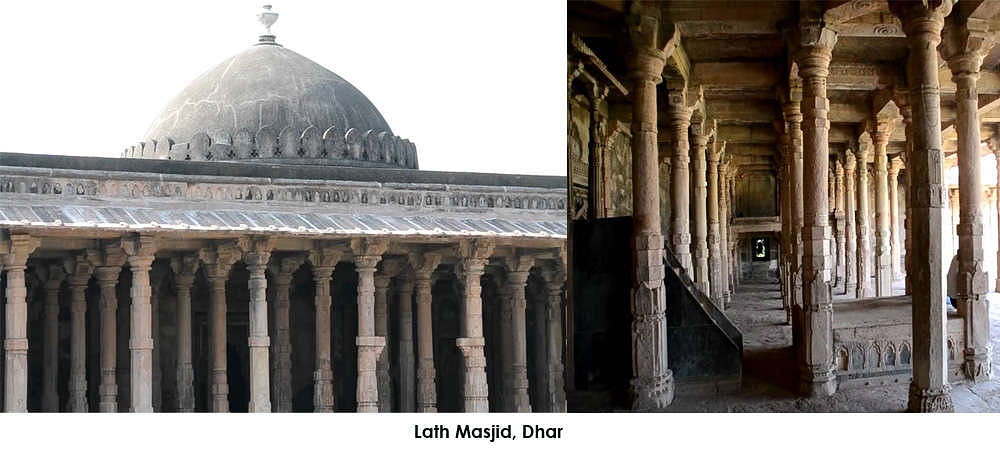Lath Masjid also known as 'Pillar Mosque', is to the south of the town like a tomb. It derives its name from a pillar made of iron which is supposed to have been set up in the 11th century.