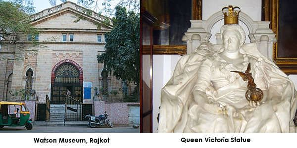 Watson Museum which has a collection of human history and culture, which include precious objects of the colonial period of India and also the History of Rajkot. located in the Jubilee Garden, this museum traces the heritage of Saurashtra.
