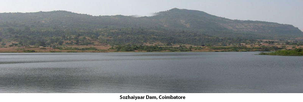 The Sozhaiyar Dam lying on the cliff of Valparai, in Pollachi Taluk, Coimbatore district is still unspoilt and beautiful with tranquility. You can enjoy the sight of so many small