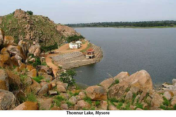 Thonnur Lake, Mysore