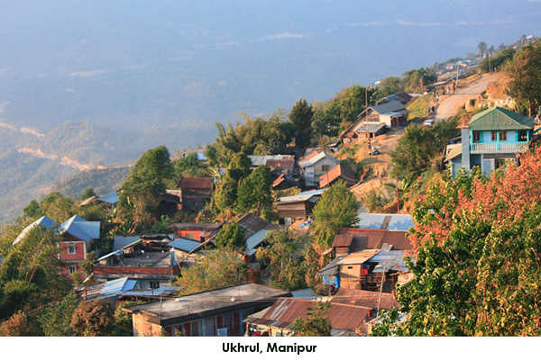 Ukhrul, a picturesque city is a visual delight. The beauty of nature offers more than just visual delight. You will be mesmerized by the beautiful valleys, hills, waterfalls and streams.