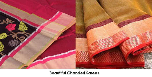 Chanderi saree is the transparency and sheer texture that is the USP of the Chanderi range. of fabrics.