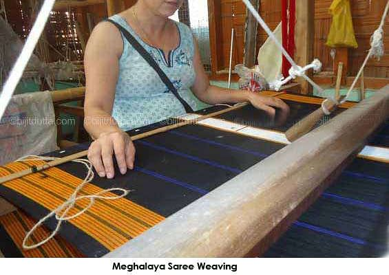 Meghalaya, one of the seven sisters of the North East of India is well-known for its handloom woven fabrics in silk and cotton.
