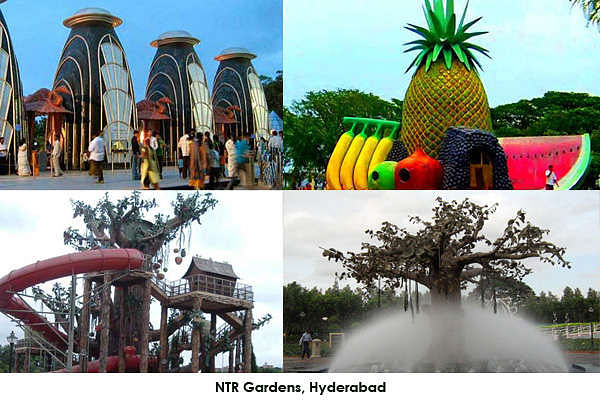 NTR Garden is a very nice place to spend time in the evenings. Lot of attraction for kids. Nice fountains and garden for relaxing. It is quite a nice place to visit when you have time in hyderabad.